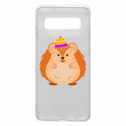 Чохол для Samsung S10 Little hedgehog in a hat