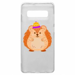 Чохол для Samsung S10+ Little hedgehog in a hat