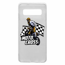 Чехол для Samsung S10 Motocross