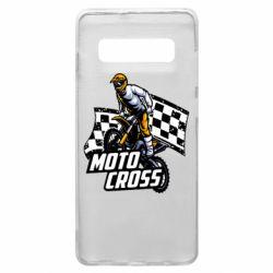 Чехол для Samsung S10+ Motocross