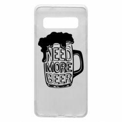 Чохол для Samsung S10 Need more beer