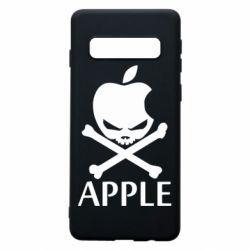 Чехол для Samsung S10 Pirate Apple
