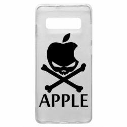 Чехол для Samsung S10+ Pirate Apple