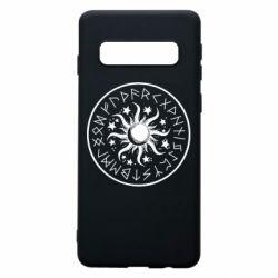 Чохол для Samsung S10 Sun in runes