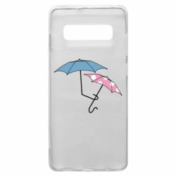 Чехол для Samsung S10+ Umbrella love Color