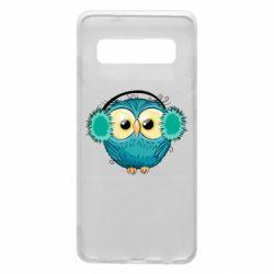 Чехол для Samsung S10 Winter owl