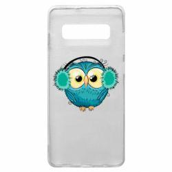 Чехол для Samsung S10+ Winter owl