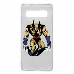 Чохол для Samsung S10 Wolverine comics