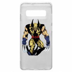 Чохол для Samsung S10+ Wolverine comics