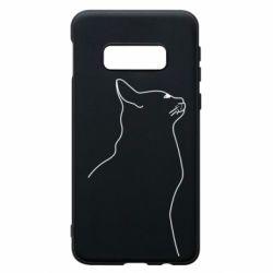 Чохол для Samsung S10e Cat line