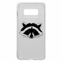 Чохол для Samsung S10e Cute raccoon face