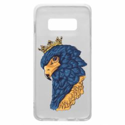 Чехол для Samsung S10e Eagle with a crown on its head