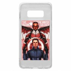 Чохол для Samsung S10e Falcon and the Winter Soldier Art