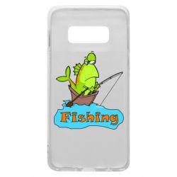 Чехол для Samsung S10e Fish Fishing