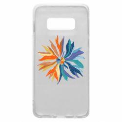 Чохол для Samsung S10e Flower coat of arms of Ukraine