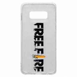 Чехол для Samsung S10e Free Fire spray