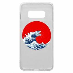 Чохол для Samsung S10e Godzilla Wave