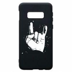 Чехол для Samsung S10e HEAVY METAL ROCK