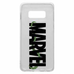 Чехол для Samsung S10e Marvel logo and vine