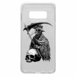 Чехол для Samsung S10e Plague Doctor graphic arts