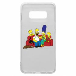 Чехол для Samsung S10e Simpsons At Home