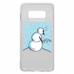 Чохол для Samsung S10e Snowman. It's Cold!