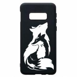 Чехол для Samsung S10e Wolf And Fox