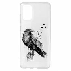 Чохол для Samsung S20+ A pack of ravens