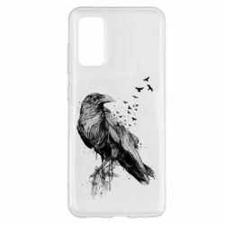 Чохол для Samsung S20 A pack of ravens