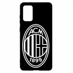 Чохол для Samsung S20+ AC Milan logo