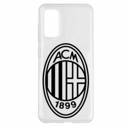 Чохол для Samsung S20 AC Milan logo