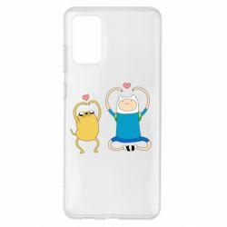 Чохол для Samsung S20+ Adventure time