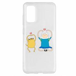 Чохол для Samsung S20 Adventure time