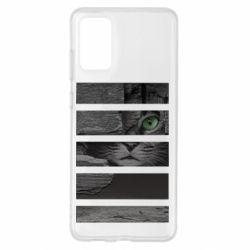 Чехол для Samsung S20+ All seeing cat