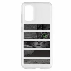 Чехол для Samsung S20 All seeing cat