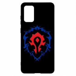 Чехол для Samsung S20+ Alliance and horde two in one