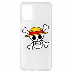 Чохол для Samsung S20+ Anime logo One Piece skull pirate