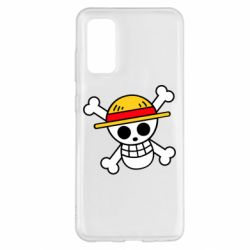 Чохол для Samsung S20 Anime logo One Piece skull pirate