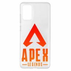 Чохол для Samsung S20+ Apex legends gradient logo