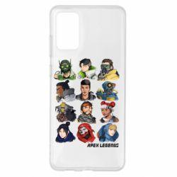 Чохол для Samsung S20+ Apex legends heroes
