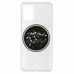 Чехол для Samsung S20+ Aquarius constellation