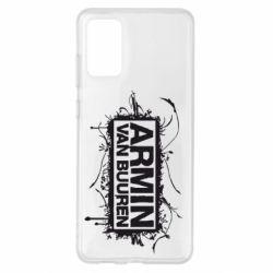 Чехол для Samsung S20+ Armin Van Buuren