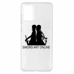 Чохол для Samsung S20+ Asuna and Kirito