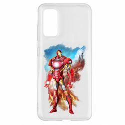 Чохол для Samsung S20 Avengers iron man drawing