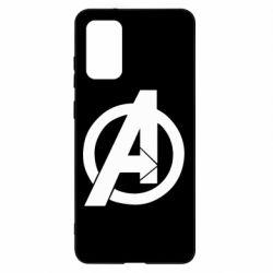 Чохол для Samsung S20+ Avengers logo