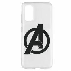 Чохол для Samsung S20 Avengers logo