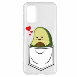 Чехол для Samsung S20 Avocado in your pocket