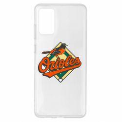 Чохол для Samsung S20+ Baltimore Orioles