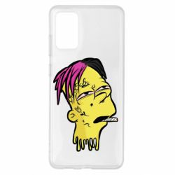 Чехол для Samsung S20+ Bart as Lil Peep