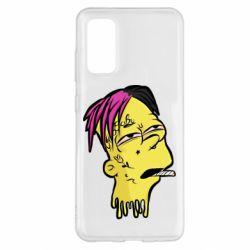 Чехол для Samsung S20 Bart as Lil Peep
